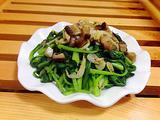 虾米小油菜的做法[图]