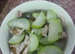 节瓜,瘦肉,紫菜汤