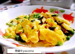 虾皮香葱炒鸡蛋