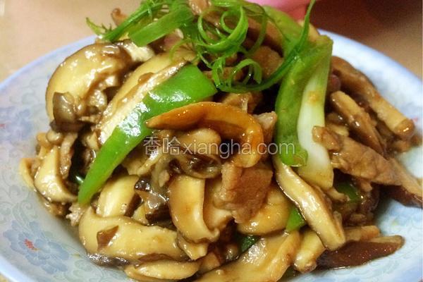 蚝油香菇肉片