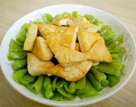 豆腐小油菜[图]