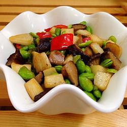 蚝油香菇杂蔬