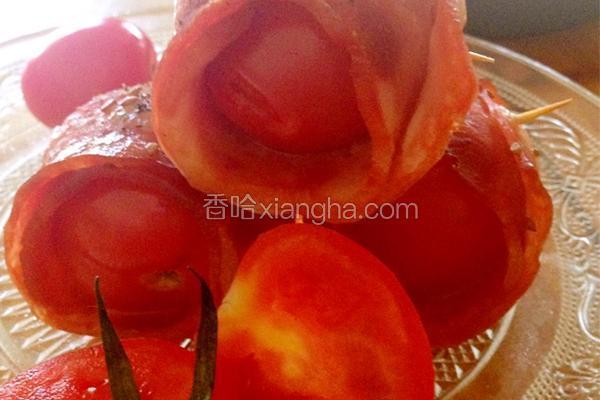 小番茄培根卷
