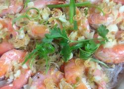 粉丝蒸鲜虾