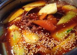 牛肉胡萝卜火锅