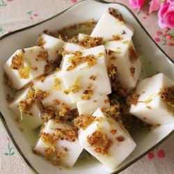 杏仁奶豆腐