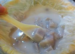 香芋水果糖丸西米露