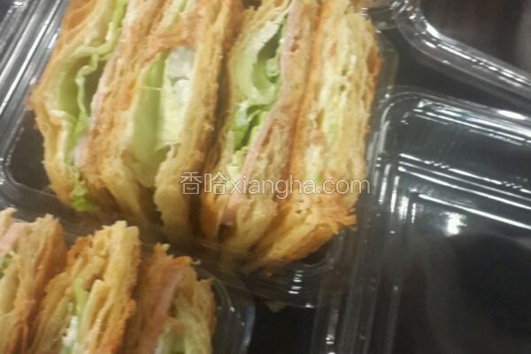 丹麦三明治