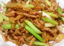 肉丝炒榨菜