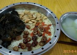红枣枸杞木耳鸡肉蒸饭