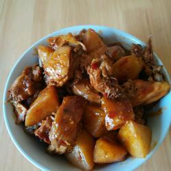 土豆炖鸡的做法[图]