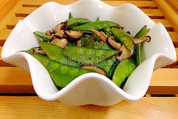 香菇荷兰豆