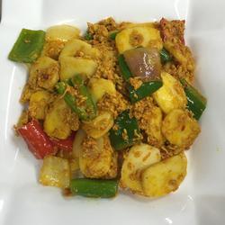 蟹羔炒年糕