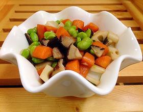 三丁炒蘑菇[图]