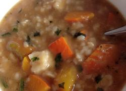 金瓜疙瘩汤