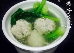 水丸子菜心汤