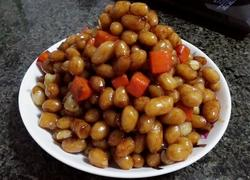 卤香花生米