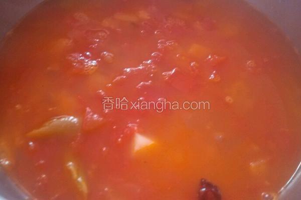西红柿牛腩