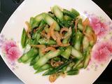 虾米炒芥兰的做法[图]