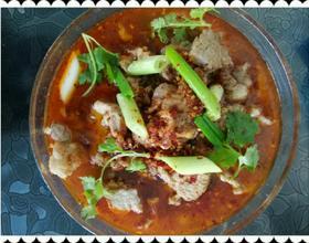 水煮牛肉片[图]
