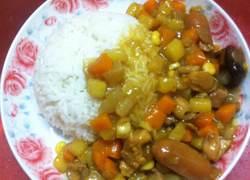 咖喱鸡肉盖饭