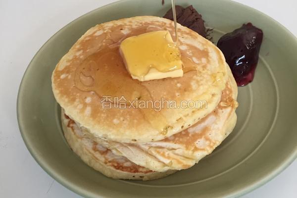 Fluffy Pancake 蓬松西式煎饼