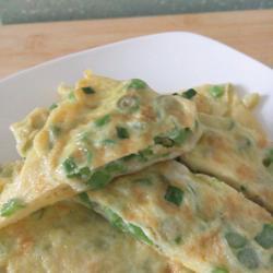 青豆角煎蛋