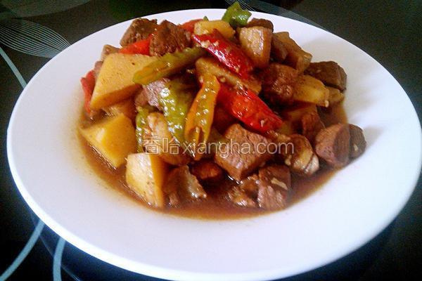 红烧肉炖土豆豆角_红烧肉炖土豆的做法_菜谱_香哈网