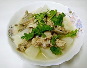 白萝卜羊排汤[图]