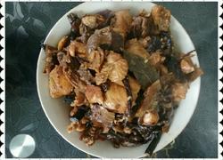 为爱做倒菜一一小鸡炖蘑菇