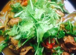 小排炖黄花菜