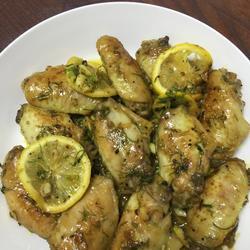 柠檬香草煎鸡