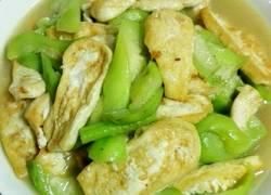 丝瓜炒豆腐
