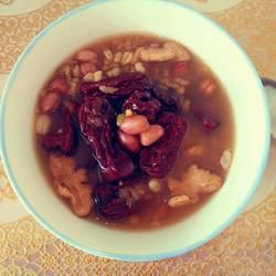 红枣花生八宝粥