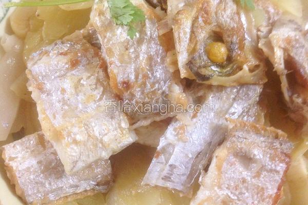 香煎带鱼焖咸菜