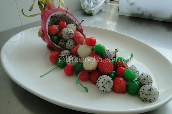 什锦水果沙拉