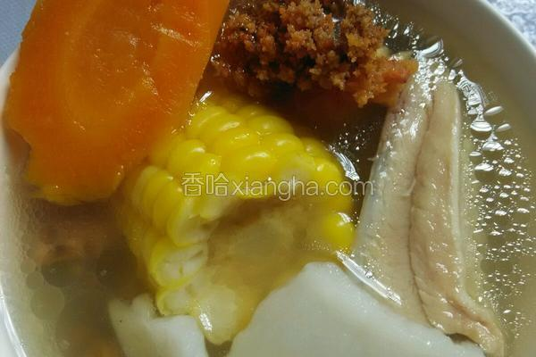 山药炖鸡汤