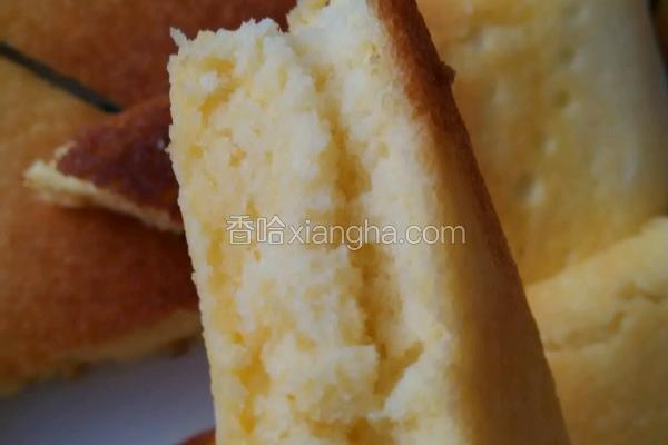 平底锅版蛋糕