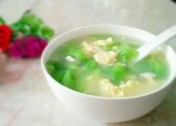 丝瓜鸡蛋瘦肉汤