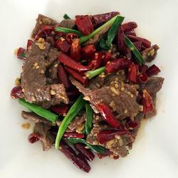 香辣牛肉的做法[图]