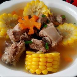 玉米排骨湯的做法[圖]