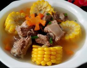 玉米排骨汤[图]
