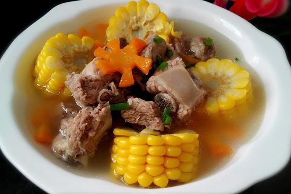 玉米排骨汤