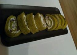 红豆抹茶舒芙蕾蛋卷