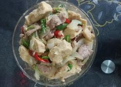 牛肉炖冻豆腐