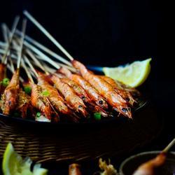 孜然串烤虾的做法[图]