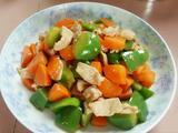 甜椒胡萝卜肉片的做法[图]