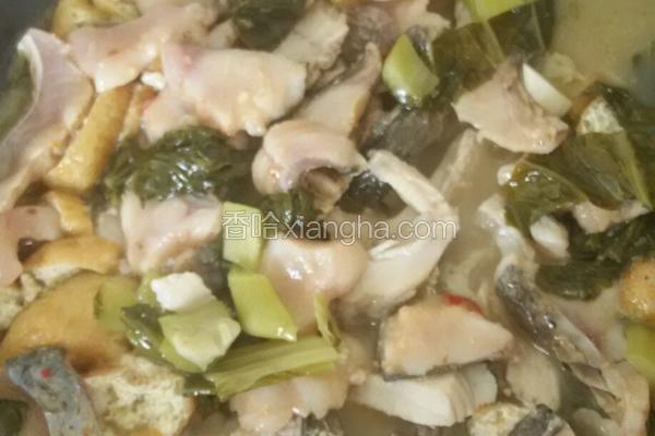 油豆腐酸菜鱼