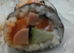 乡村的简单美味寿司