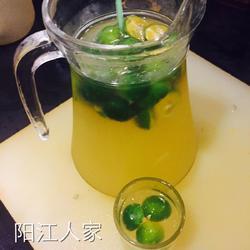 柑桔蜜绿茶的做法[图]